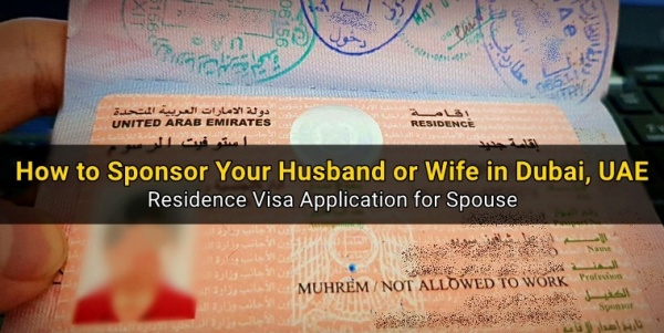 How to Sponsor Your Wife or Husband in UAE [Spousal Visa]