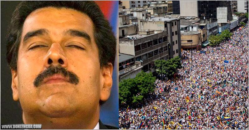 Maduro jura que capturará a todos los que lo quieren ver muerto (25 millones?)