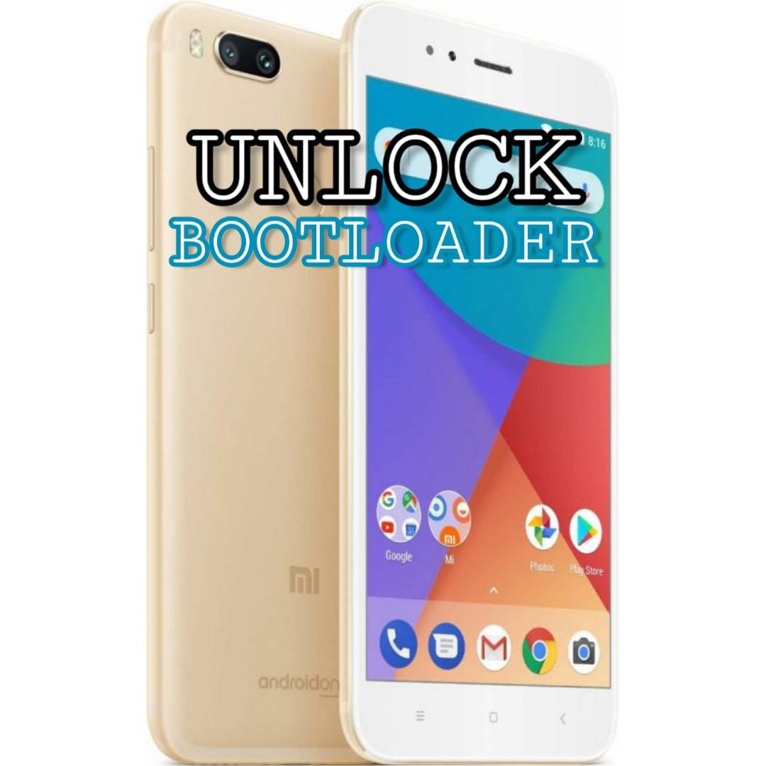 Cara Mudah Unlock Bootloader Xiaomi Mi A1 (100% Sukses) - Via HP Ku