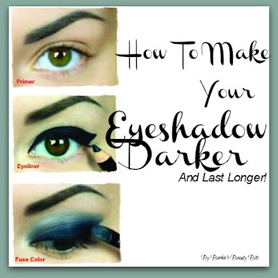 How To Make Your Eyeshadow Last Longer And Appear Darker By Barbie's Beauty Bits.