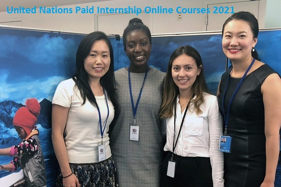united-nations-paid-internship-online-courses-2021