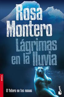 Lágrimas en la lluvia de Rosa Montero - Portada