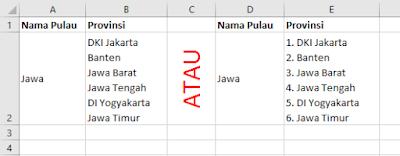 Tips Excel Cara Entri Data dengan Cepat
