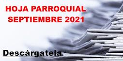 Hoja Parroquial Septiembre 2021