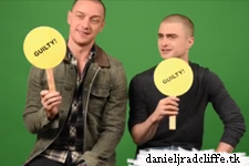 Daniel Radcliffe and James McAvoy play the Never Have I Ever game with BuzzFeed