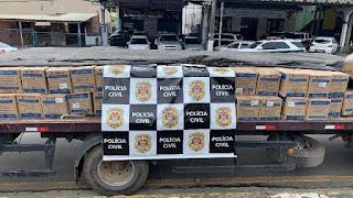 Polícia Civil prende 8 criminosos e recupera carga roubada durante operação realizada em Cajati e Barra do Turvo