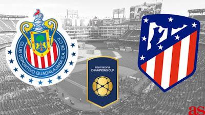 مشاهدة مباراة أتلتيكو مدريد جوادالاخارا المكسيكي بث مباشر اليوم في الكاس الدولية للابطال