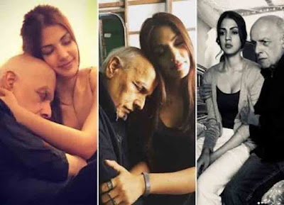 After Sushant Singh Rajput's Tragic Death Rhea Chakraborty & Mahesh Bhatt's Old Pictures Goes VIRAL
