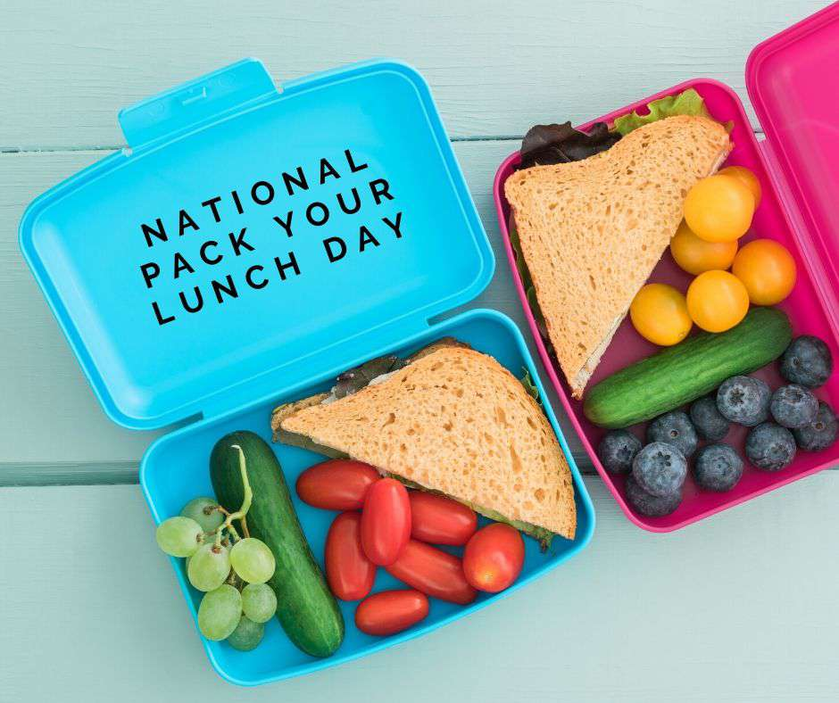 National Pack Your Lunch Day Wishes Unique Image