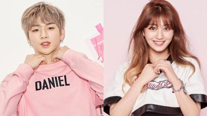 Kang Daniel Dan Jihyo TWICE Akhirnya berpacaran