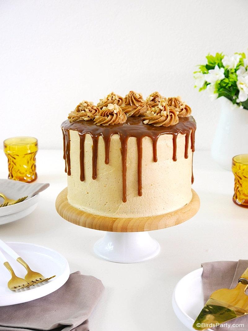 Gâteau de Fête au Beurre de Cacahuètes