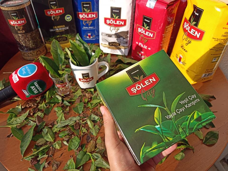 Şölen Yeşil Çay, isacotur avm şölen çay