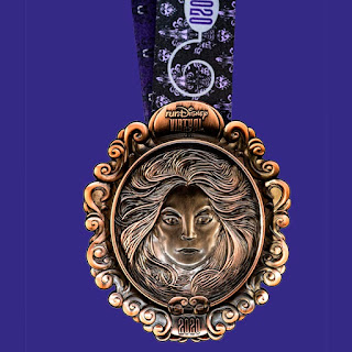 RunDisney Virtual Series 2020 - The Haunted Mansion médaille