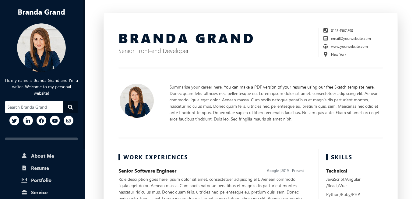 How To Create a Professional Resume in HTML Using Bootstrap