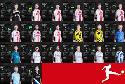 PES 2021 Bundesliga Facepack V3 by I3ens