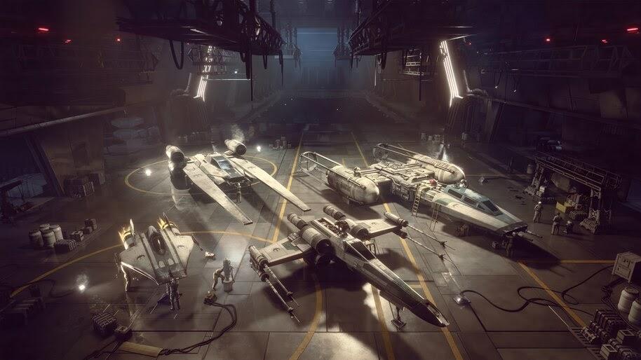 Star Wars Squadrons, Starships, New Republic, 4K, #5.2161