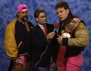 WCW Clash of the Champions XII - Tony Schiavone interviews The Steiner Brothers