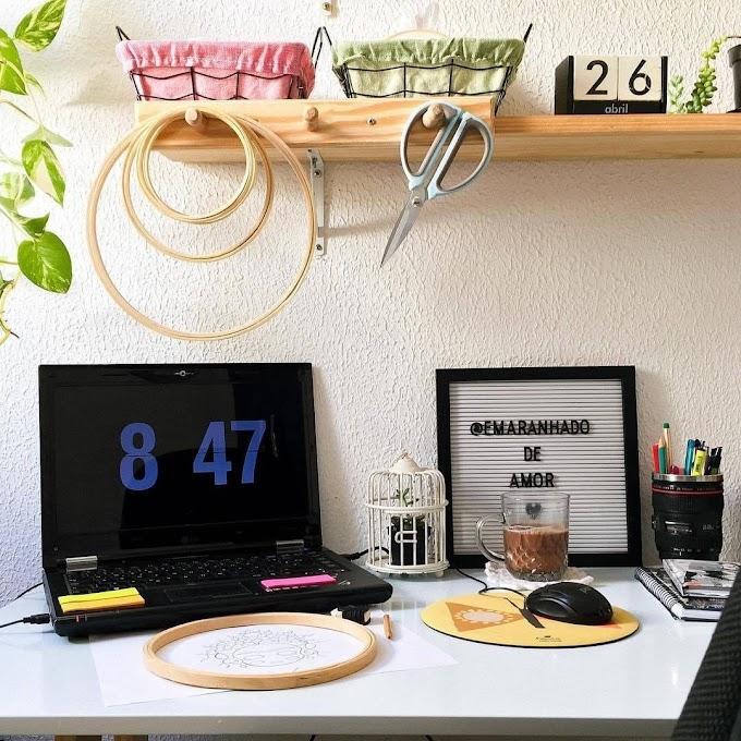 Home Office: 7 Dicas para Trabalhar no Espaço Perfeito