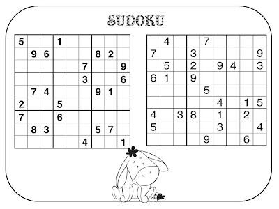 Atividades de Matemática, numerais, Sudoku, JOGO,