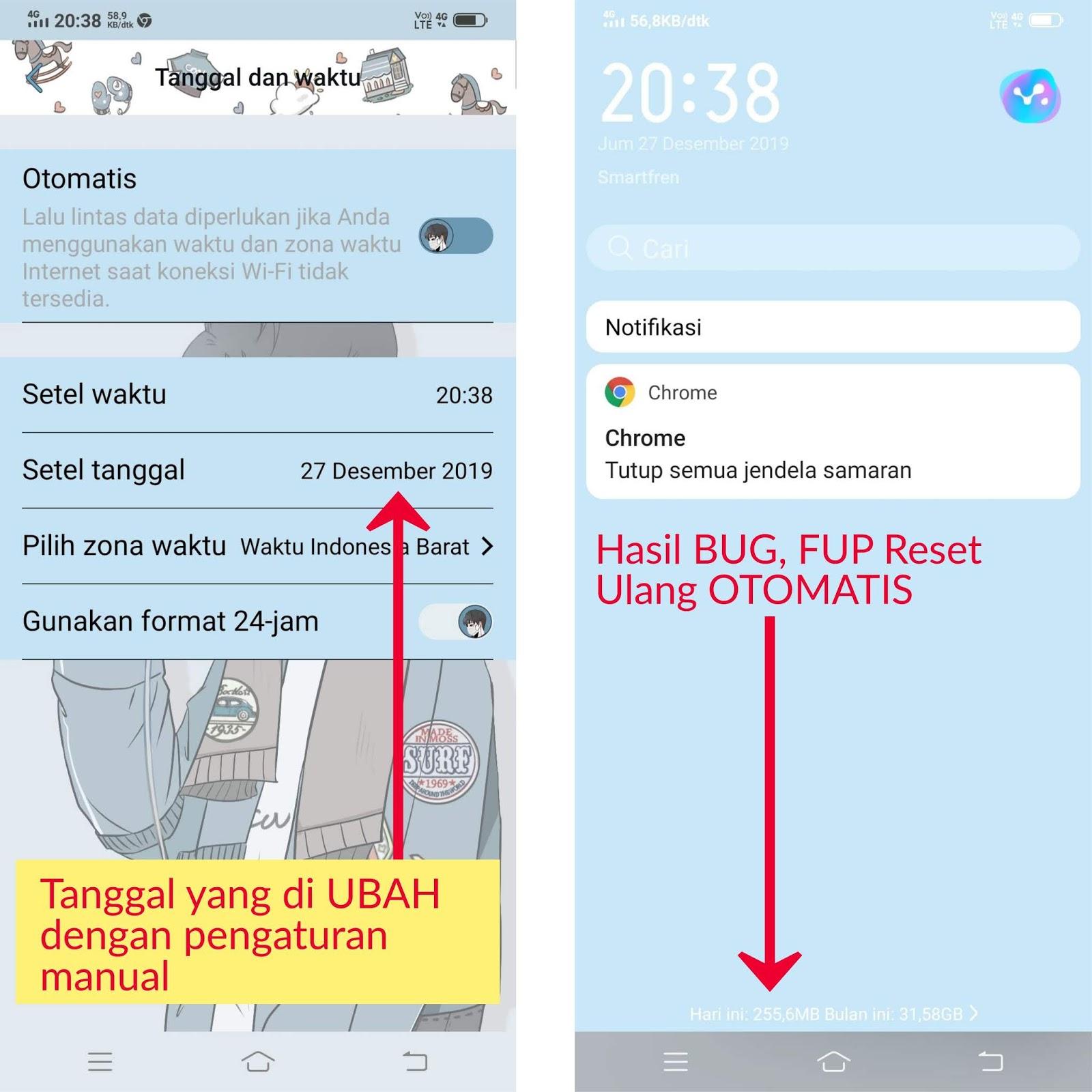 BUG Paket Unlimited SMARTFREN Tanpa FUP