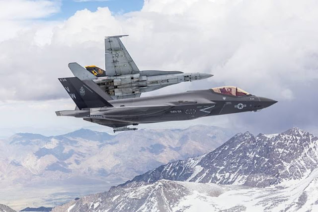 Marine F-35C Safe Flight Certification