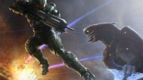 Halo 5 - Duel Spartan vs Alien - Full HD 1080p