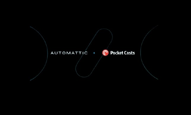 Pocket Casts is acquired by Automattic, WordPress's Parent Company
