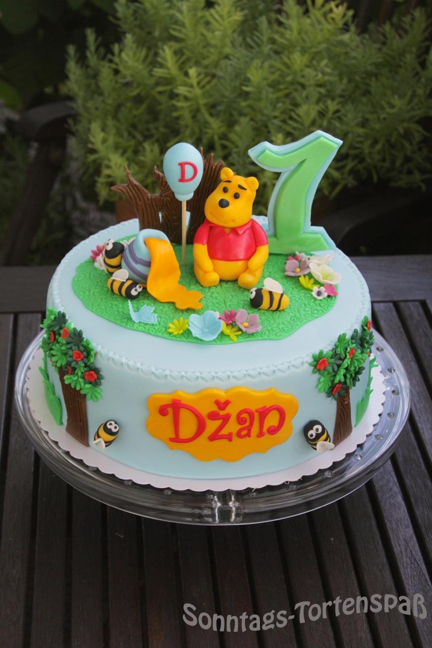 Immer wieder sonntags winnie pooh torte - Winnie pooh kuchen deko ...