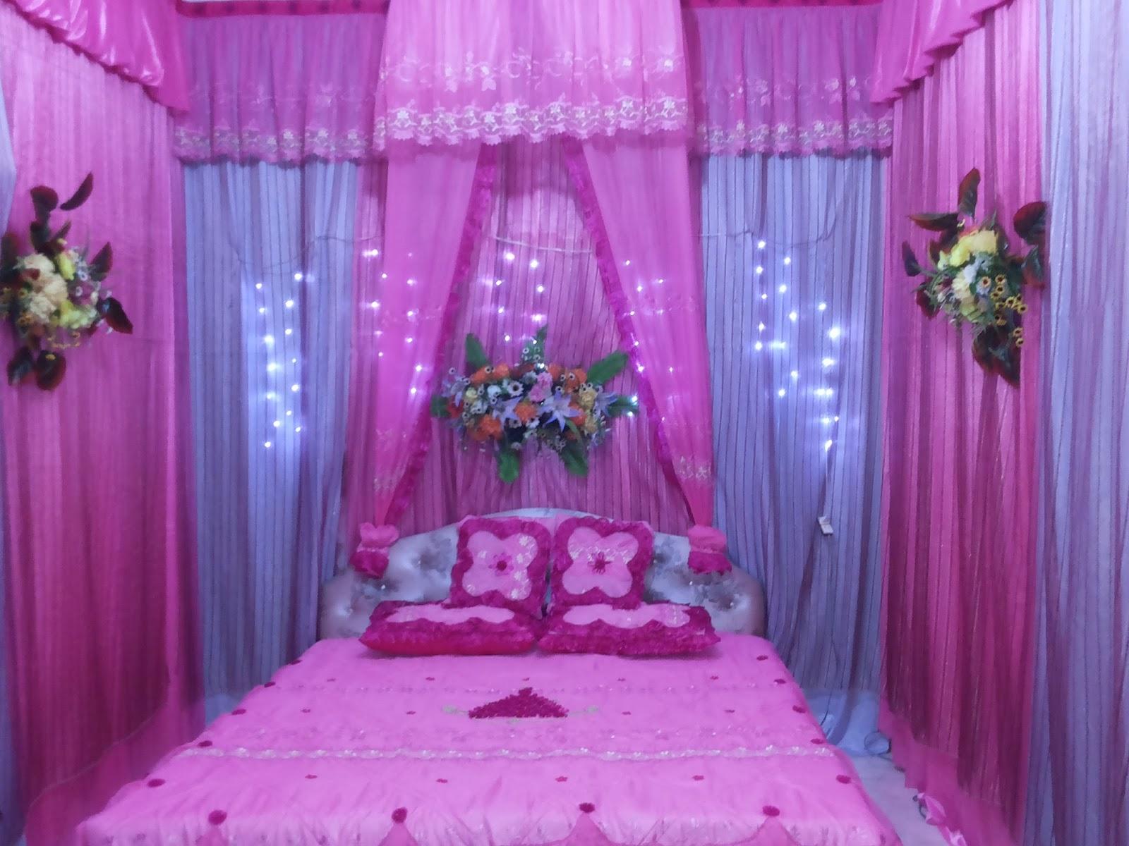 dekorasi kamar pengantin warna pink, wajib baca