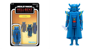 New York Comic Con 2020 Exclusive Hell-Bent ReAction Figure by HealeyMade x Super7