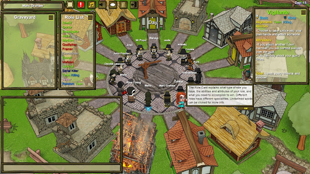 Screenshot from Town of Salem