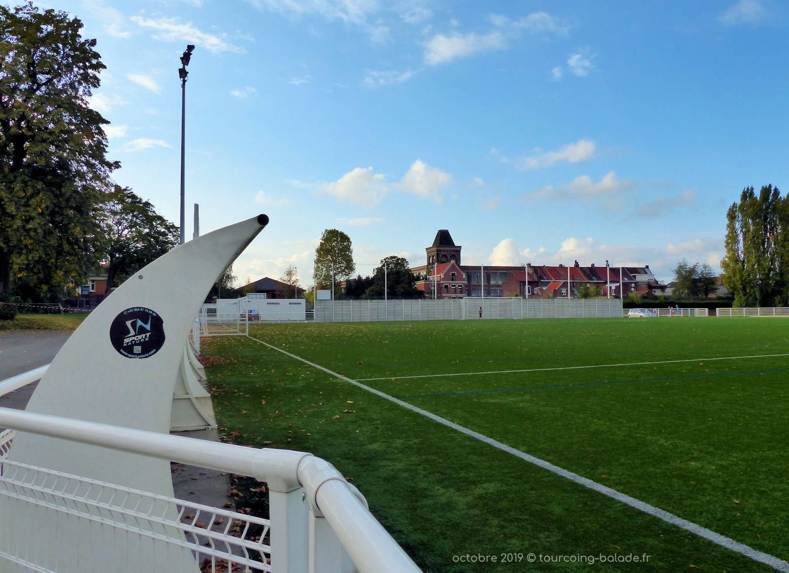 Terrain de Foot, Stade Houpline, Tourcoing