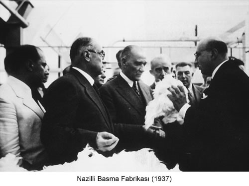 Atatürk Nazilli Basma Fabrikası 1937 Fotoğraf