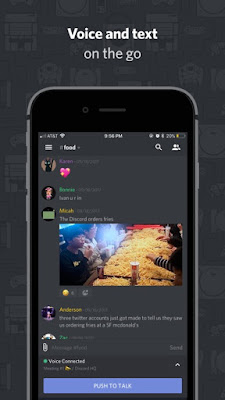 Download Discord IPA For iOS Free For iPhone And iPad With A Direct Link.