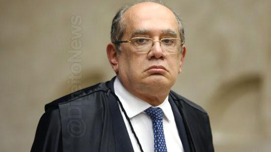 gilmar mendes relator foro flavio bolsonaro