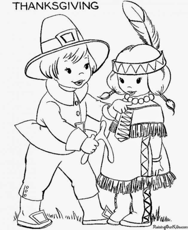 free thanksgiving coloring pages printable # 76