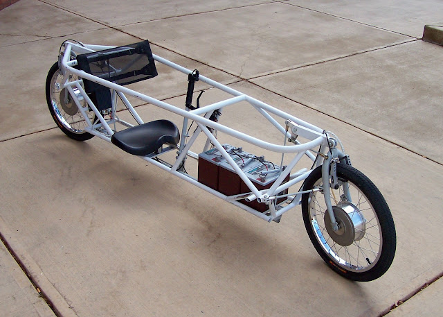 Robert Horn Two Wheel Steering Electric Recumbent