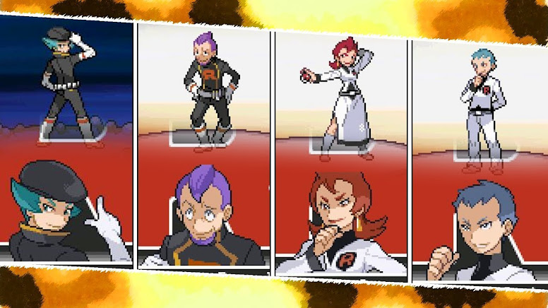 Pokémon HeartGold e SoulSilver Equipe Rocket
