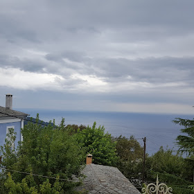 Η θέα από το μπαλκόνι μας το πρωί της αναχώρησης
