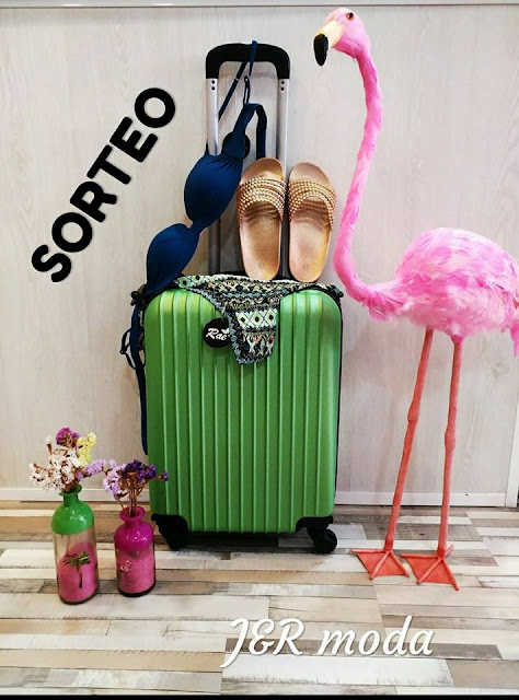 sorteo maleta de viaje