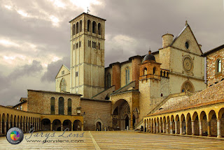 The church in Assisi - St Francis' church