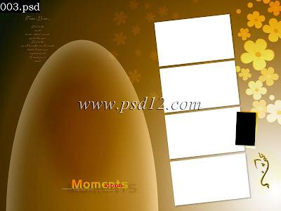 Multi Photo Photo Book PSD Templates