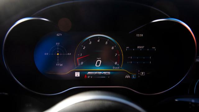 Mercedes Classe C 2020 Consommation de carburant