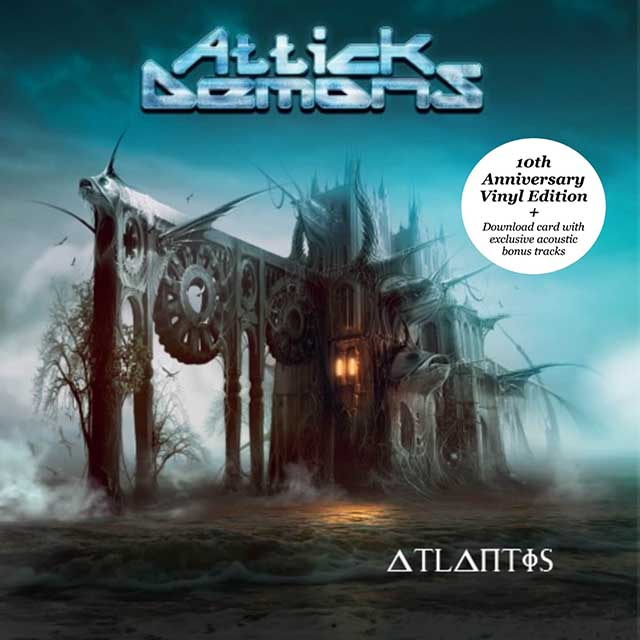 """Ο δίσκος των Attick Demons """"Atlantis"""""""