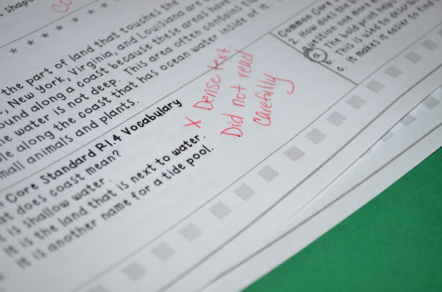 Common Core Practice Test Answers