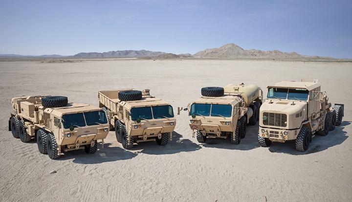 Oshkosh Defense модернізує важкі вантажівки армії США