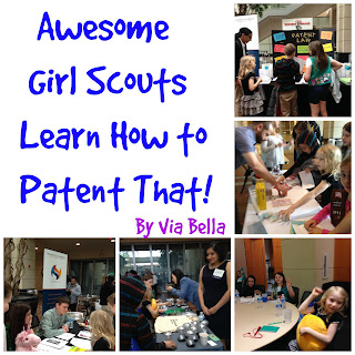 Awesome Girl Scouts Learn How to Patent That!, United States Patent and Trademark Office, USPTO, Patents, Trademarks, Copyright, Lisa Seacat DeLuca, Girl Scouts, Boy Scouts, Intellectual Property, IP Patch Program, GSCNC, Girl Scout Troop 5823, Pack 33
