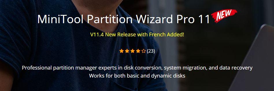 MiniTool Partition Wizard Technician 11.4 - Quản lý Phân vùng Ổ cứng