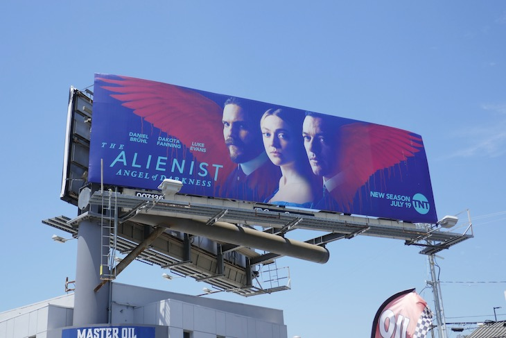 Alienist Angel of Darkness series billboard