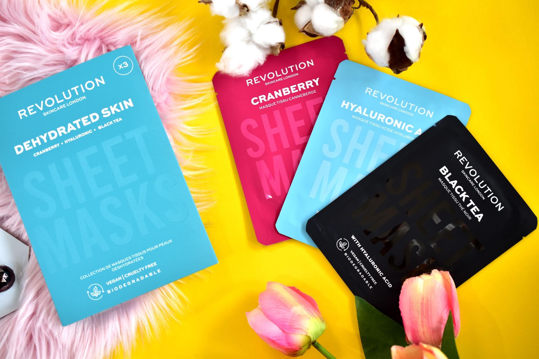 Revolution Skincare Dehydrated Skin Sheet Masks